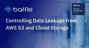 Controlling data leakage from AWS S3 and cloud storage